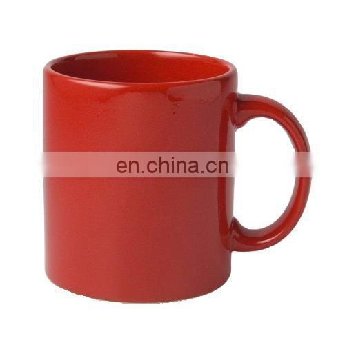 Sall order custom printed colored ceramic cup