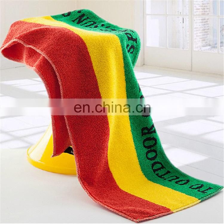 Wholesale custom 100% cotton sport yoga towel