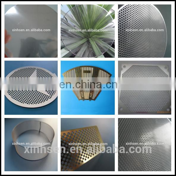high quality metal mesh curtain for Water filter metal mesh