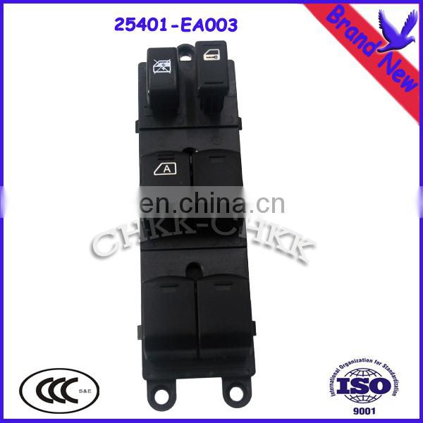 Hot Sale Japanese Cars POWER WINDOW/Door REGULATOR MASTER SWITCH ASSY OEM#25401-EA003