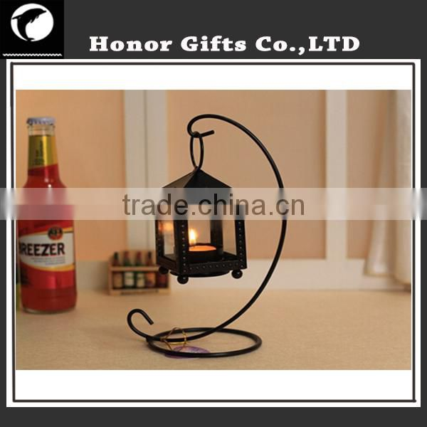 Popular Wedding Decoration Iron Bird Cage Metal Candle Holder