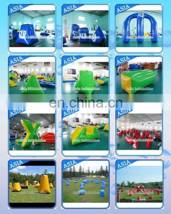 Interactive cheap inflatable paintball bunkers inflatable used paintball bunkers