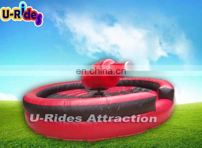 Mechanical Inflatable Bottle rodeo ride for TV Game show