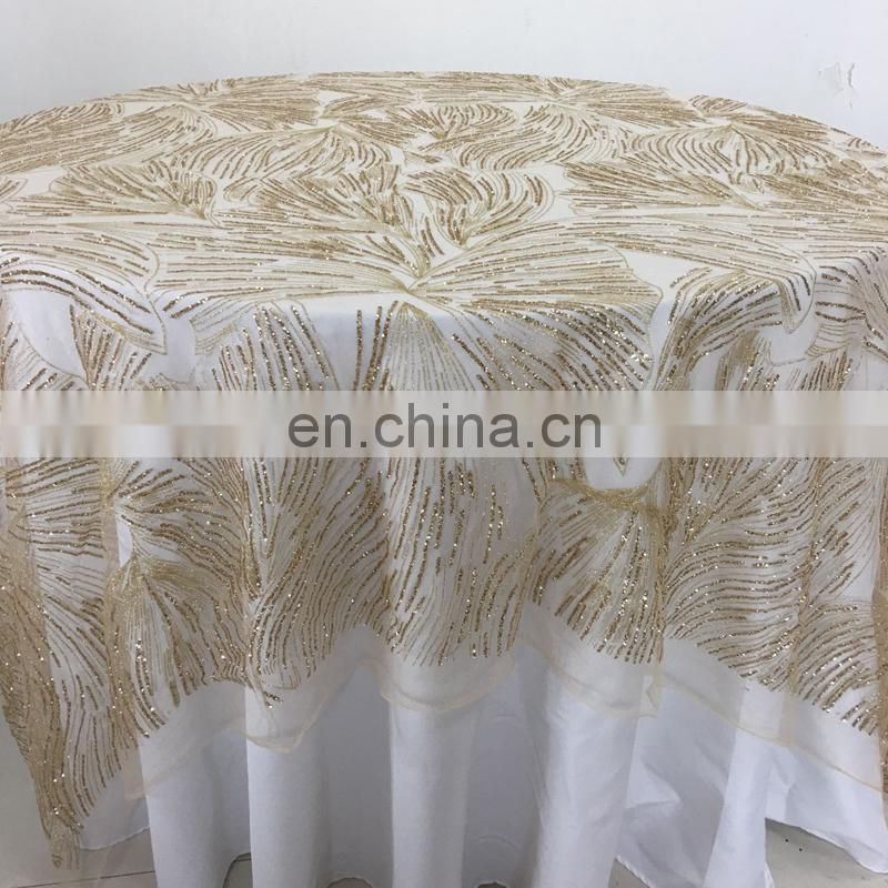 moroccan organza floral latest table cloth christmas