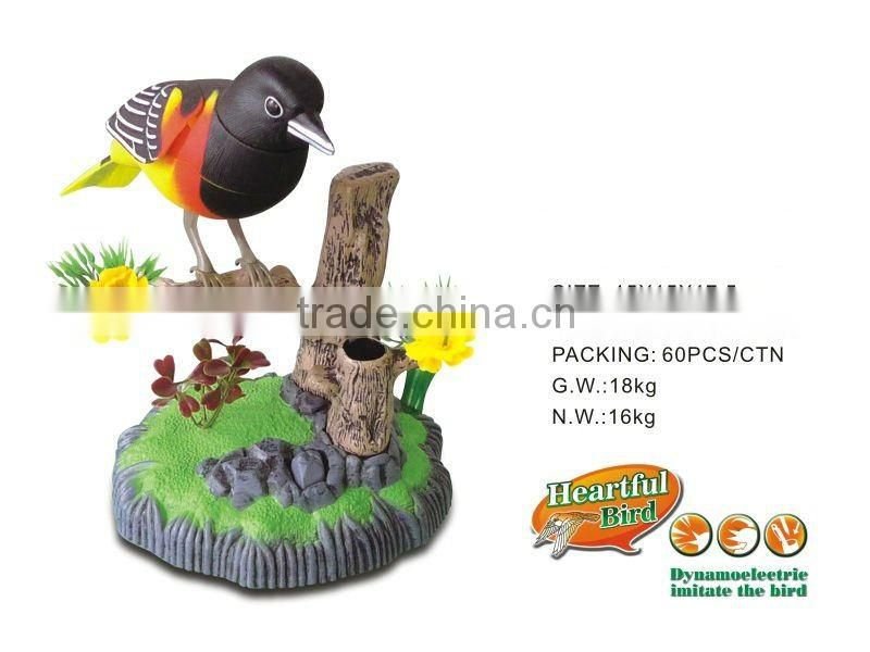 2012NEW! Battery Operated bird toy PAF509B