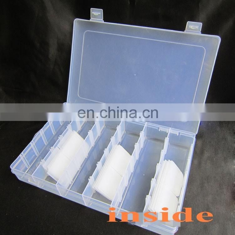 36 Grids Rubber band plastic packing box for rubber band