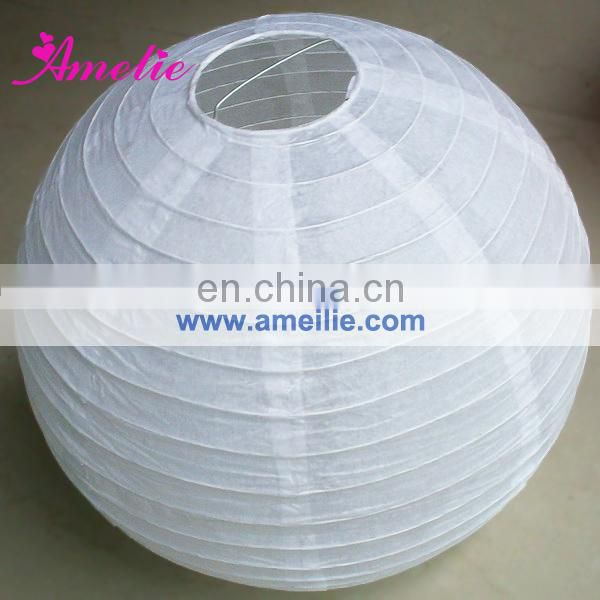 A107PL Customized Color Size Paper Lantern For Christmas Hanging Decoration