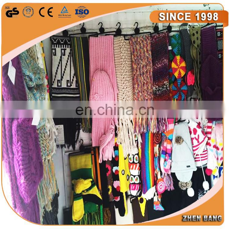 2015 Custom Design Soccer Knitted scarf professional manufacture
