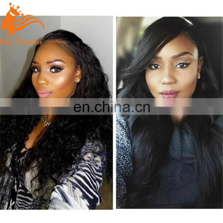 Body Wave Curly brazilian Human Hair Wigs Full Hand France Lace Wigs With Baby Hair