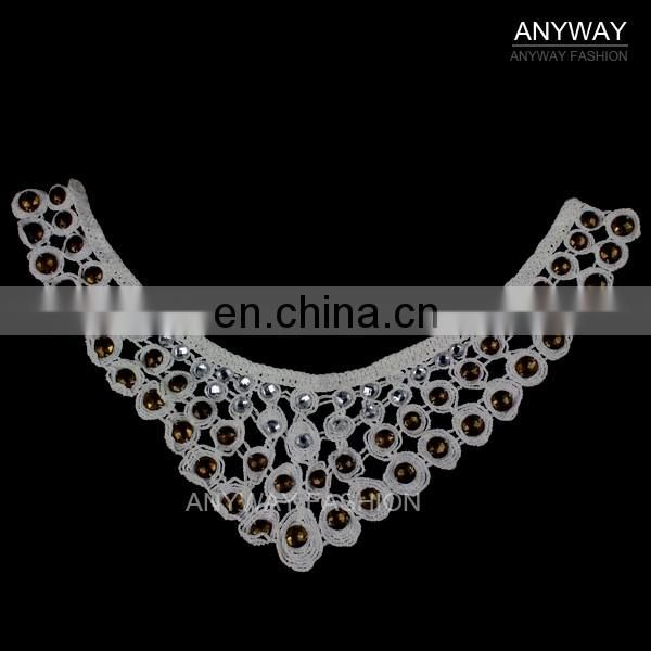 New arrival cheap price hot sale rhinestone neckline for garment accessories
