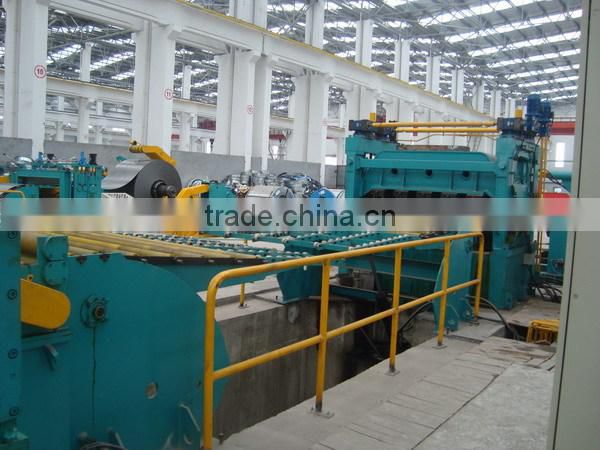 metal sheet and coil slitting and rewinding machine, galvanized steel coil slitting line for sale