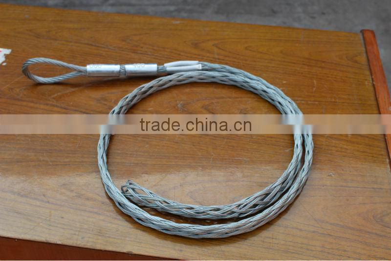 Wire Rope Pulling Grip,Mesh Socks,Cable Stocking of Cable pulling ...