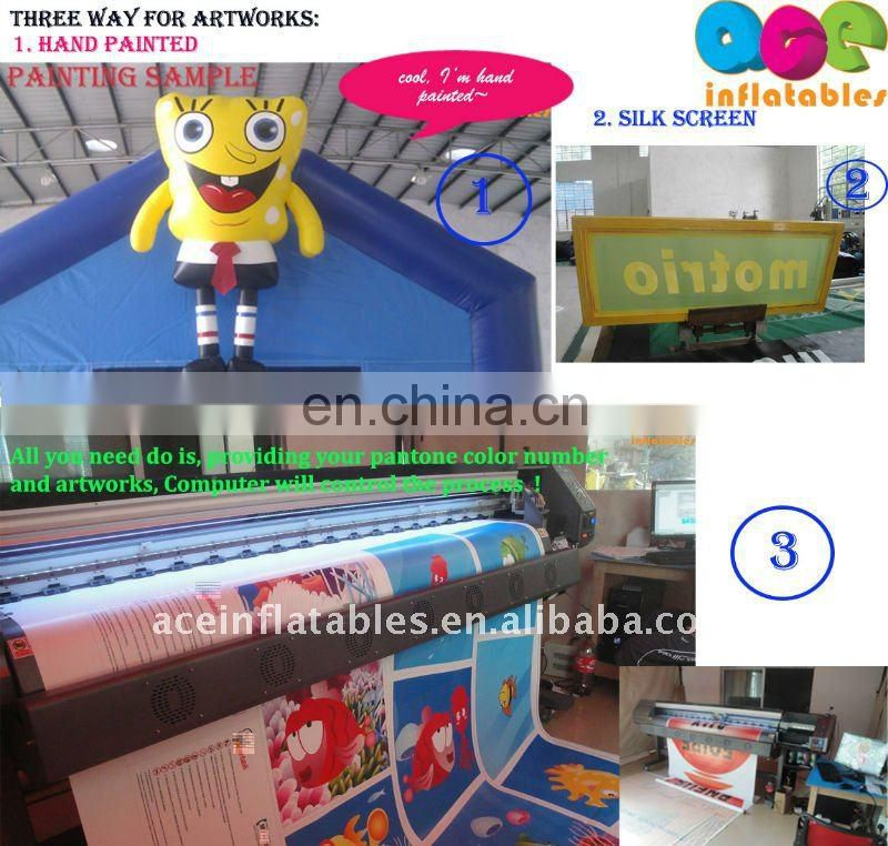 fruit park hot sell commercial inflatable fun city
