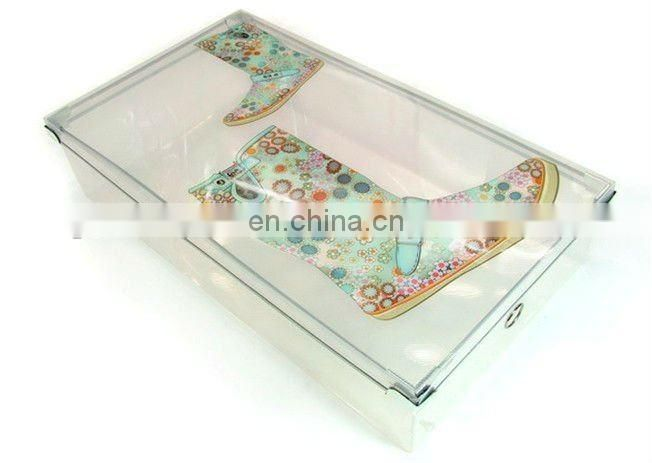 clear plastic shoe boxes with lids