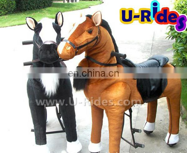 electric walking horse animal for amusement