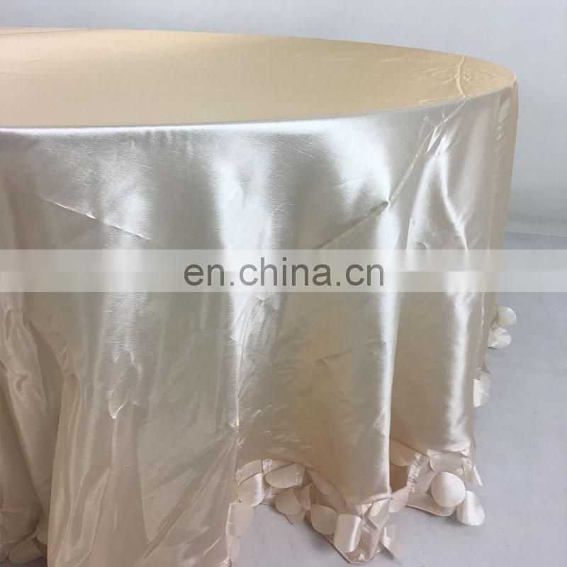 TC227A petal table cloth table cloth factory cloth cutting table