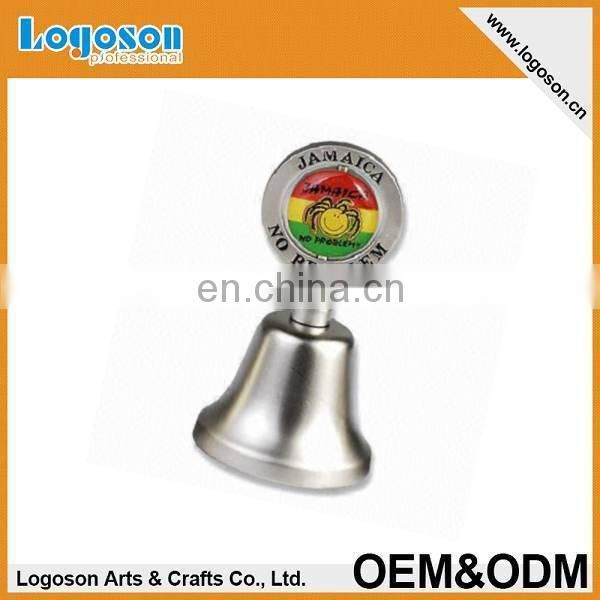 Top Quality Personalized Tourist Norway Souvenir Decorative Bronze Temple Bell