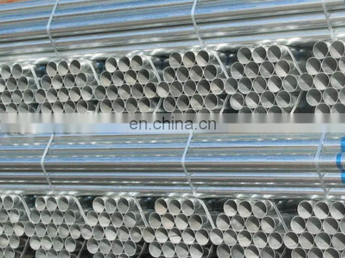 Manufacturer directly supply thin wall galvanized steel pipe manufacturer from China