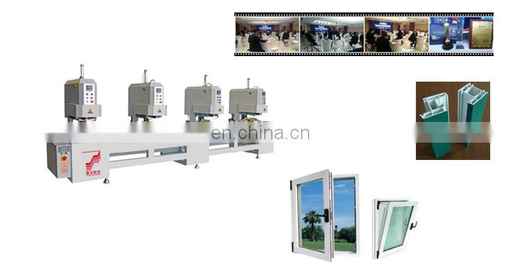 One two three four head seamless welding machine portable pvc window making door With Best Service