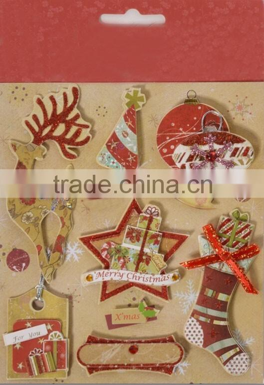 christmas decoration best selling premium wallpapers 3d stickers