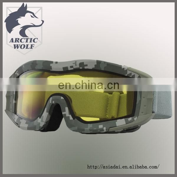 Military protective goggles safety glasses army combat safety eyewear paintball goggle with ANSIZ871