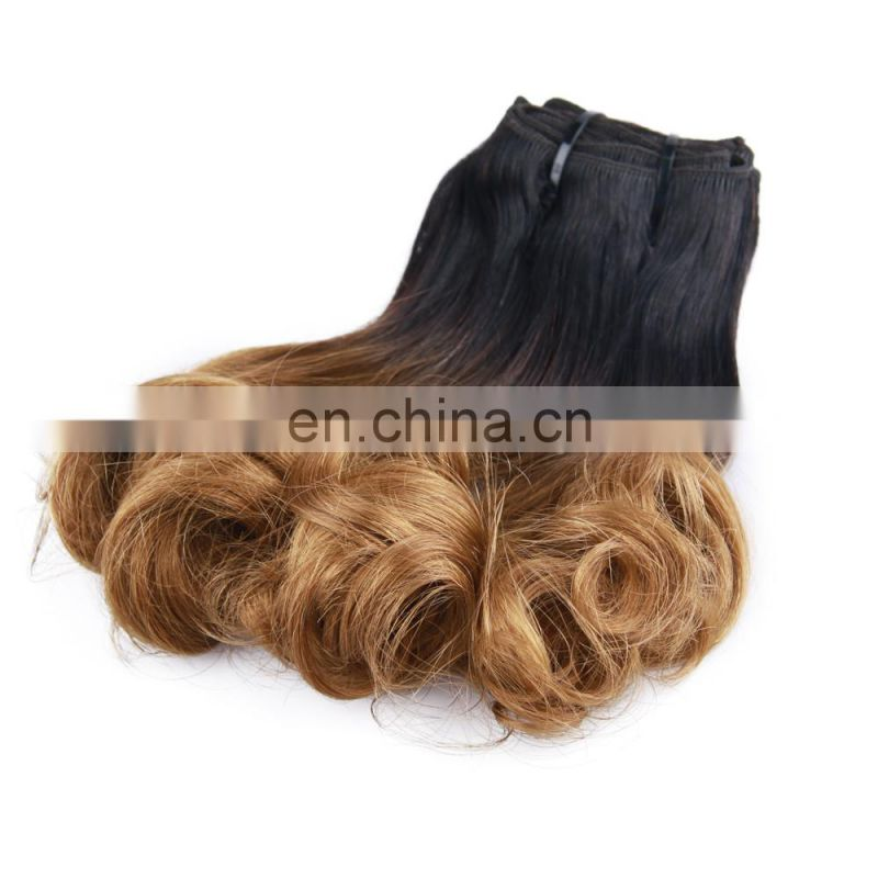 Fashion beautiful new arrival grade fummi spring curl virgin unprocessed brazilian hair