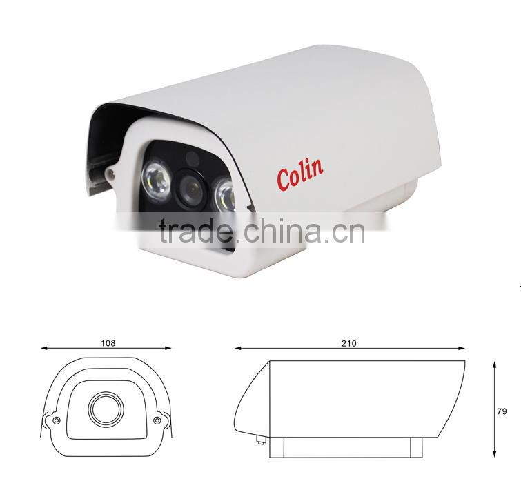 Colin 800tvl hi focus cctv ir waterproof cctv surveillance camera outdoor wifi