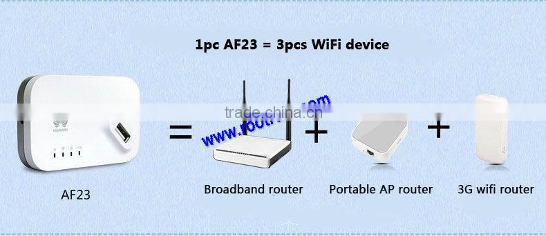 Huawei AF23 LTE/3G Sharing Dock mini usb wireless 3g 4g wifi router/Dock Station Wifi