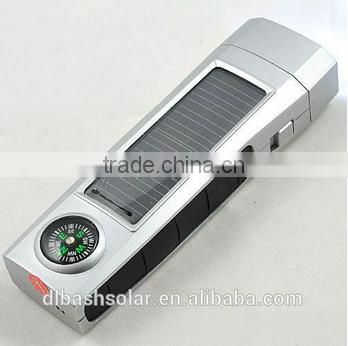 factory price MINI solar flashlight