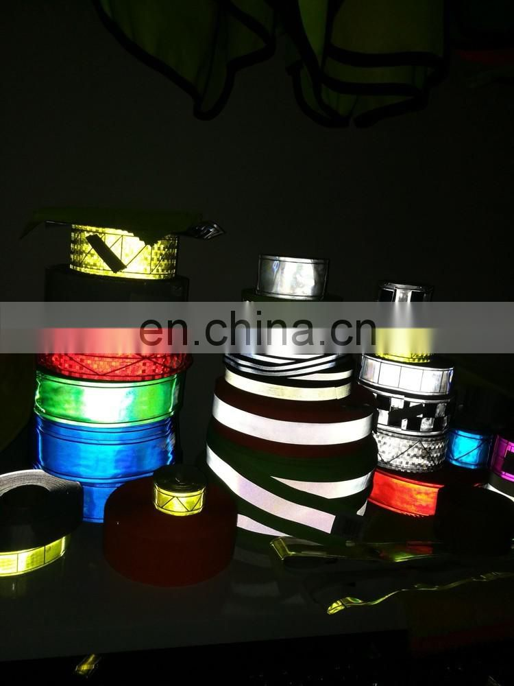 motorcycle reflective tape for clothing/car/shoes/gags/gloves