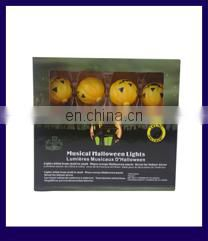 Promotional party dancing halloween pumpkin light decorations