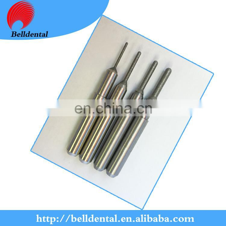 Dental Diamond coating glass ceramic milling bur for ARUM system