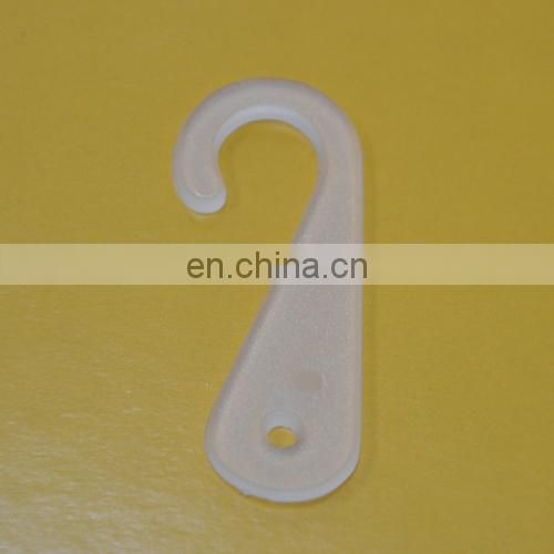 Plastic J shape sock hook/ J clips/ J hook