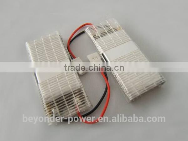 Cheap in promotion 3.7v rc helicopter battery high safety ithium polymer battery 3.7v 400mAh, factory good quality OEM