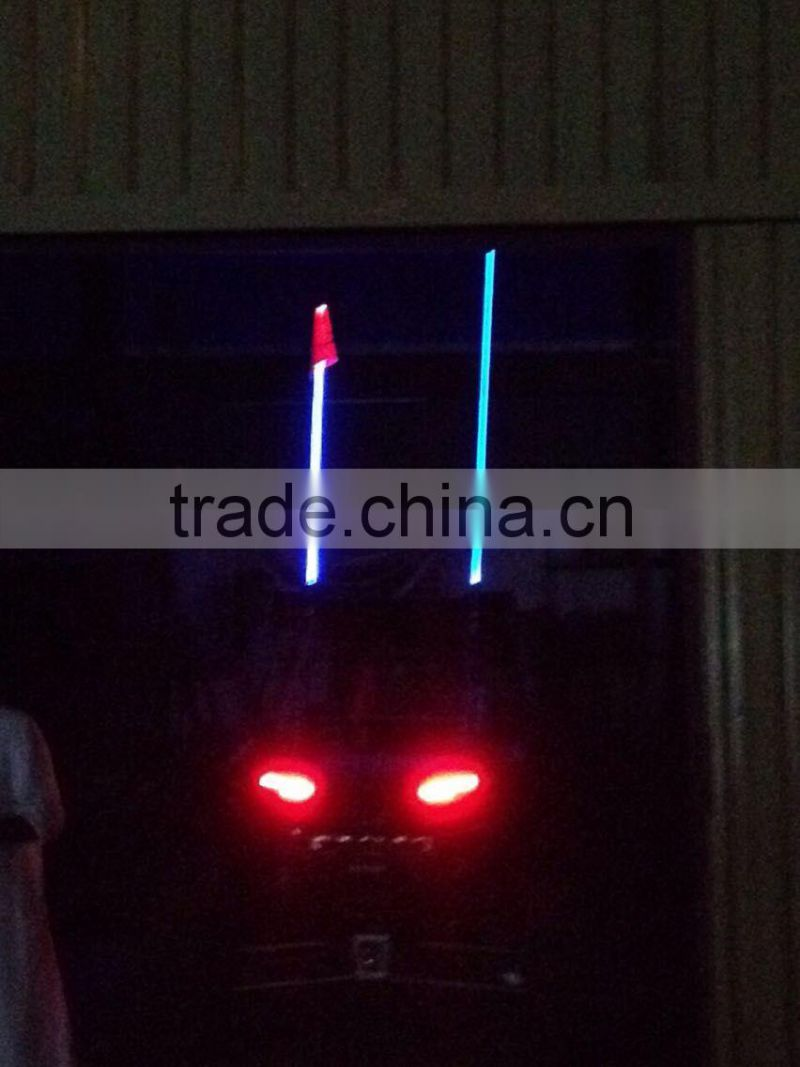 auto parts truck utv 4x4 led flags long sizes 4ft 5ft 6ft super bright different colors car antenna flags
