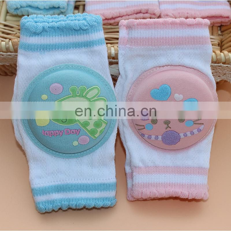 Breathable Adjustable Elastic Unisex Infant Toddler Baby Kneepads Knee Elbow Pads