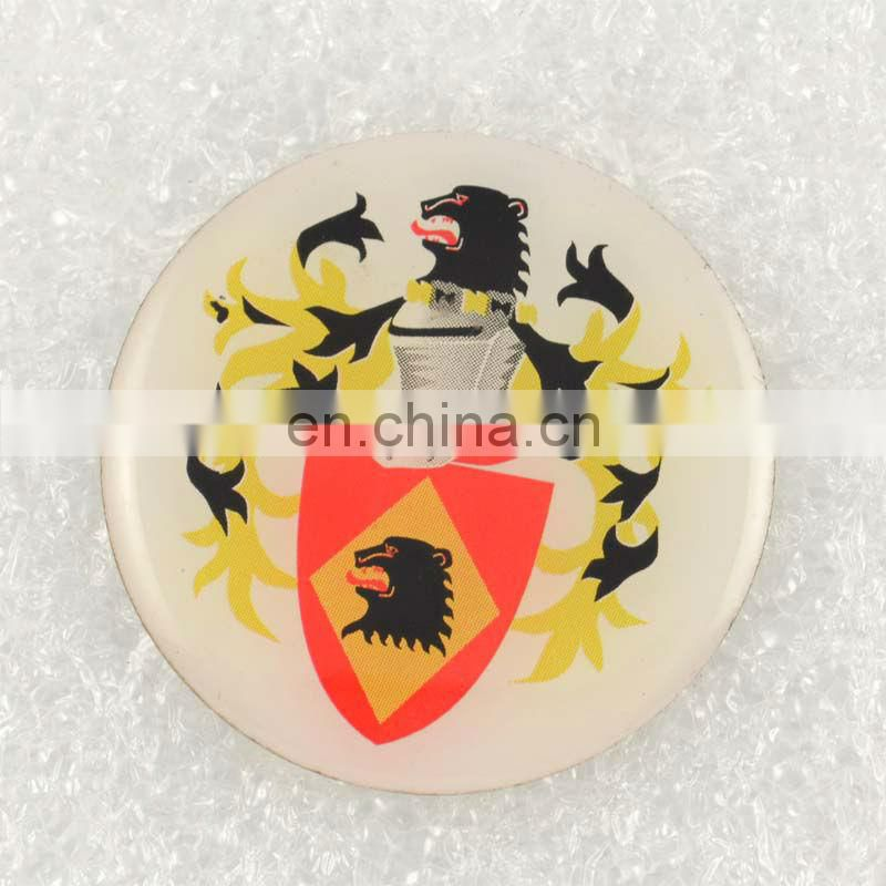 Cheap metal decorative label pin badge
