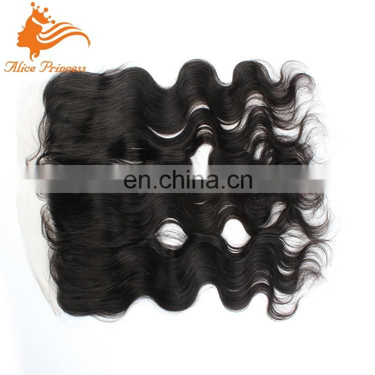 Virgin Peruvian Hair Pieces Body Wave Lace Frontal Closure Virgin Human Hair Body Wave Frontal Closure Ear to Ear