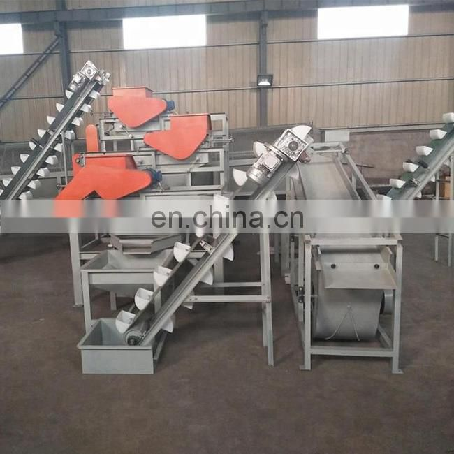 500kg/h hazelnut/almondshellermachine,almondshellerproductionline