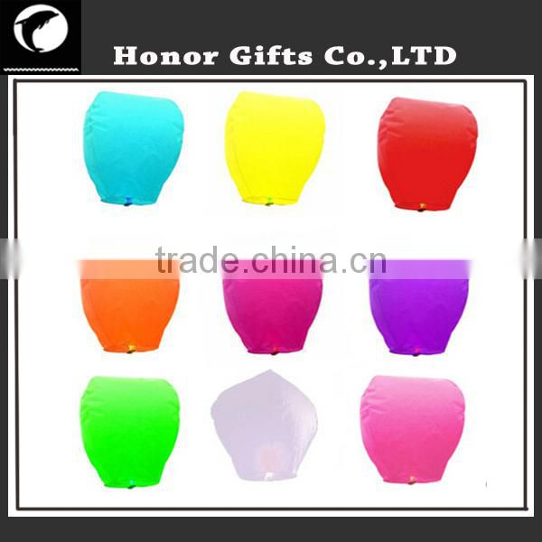 Hot Sale Wedding Party Sky lantern Wish Balloons