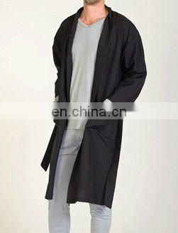 chinese winter silk robe for men