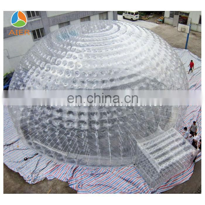 inflatable transparent bubble tent
