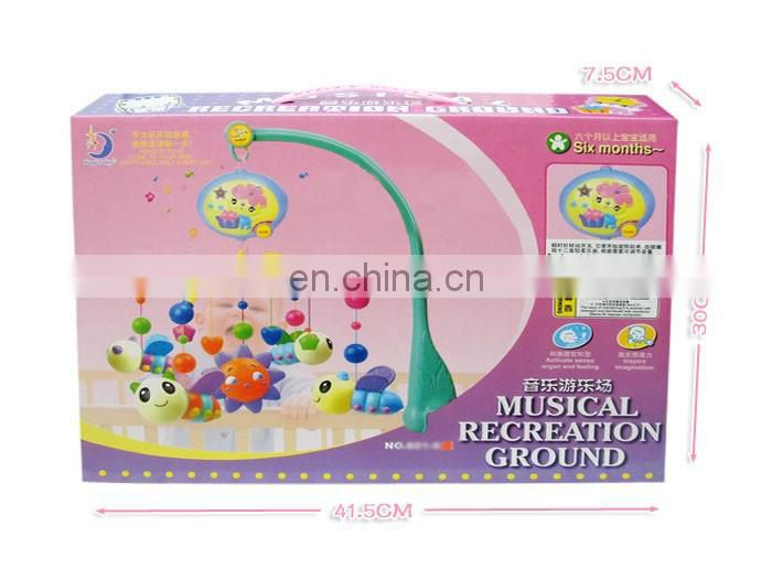 Hot selling electric baby musical mobile custom toys