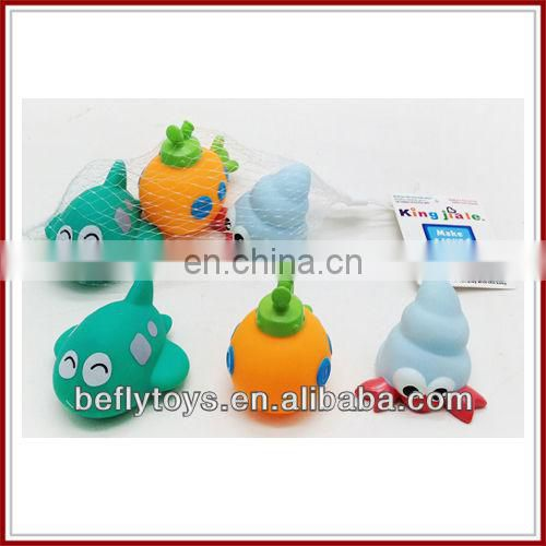 2014 baby bath vinyl animal toy