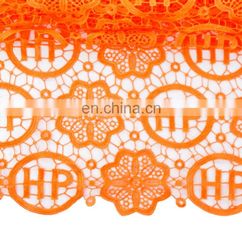 2015 hot selling blue cord lace fabric