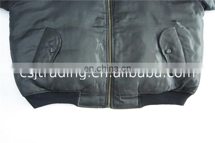 The Best slim fitted military bomber flight jacket pilot nice looking field