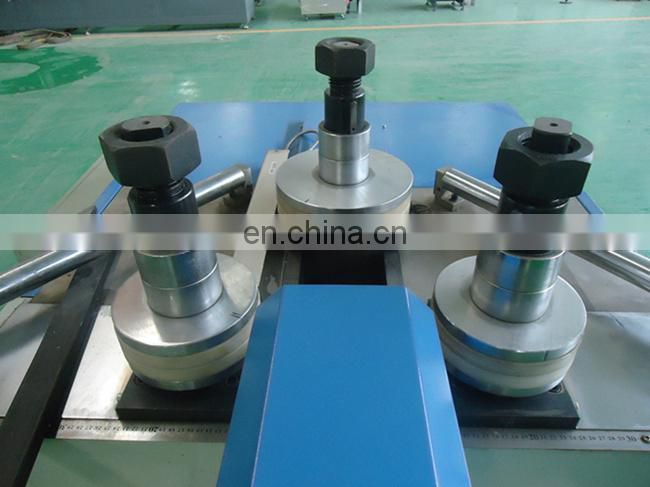 Window door rolling arc aluminum profile bending machine