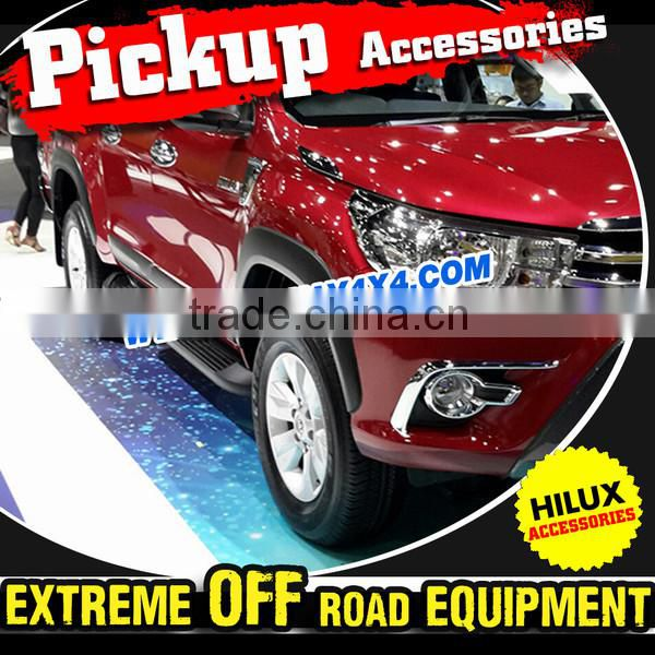 3'' Stainless Steel Pickup Truck Accessories Side Step Bar For 2015 Toyota Hilux Revo/Vigo