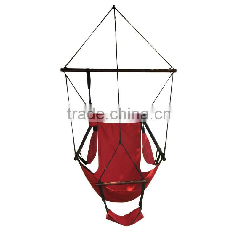 Outdoor garden camping portable air hanging swing hammock chair