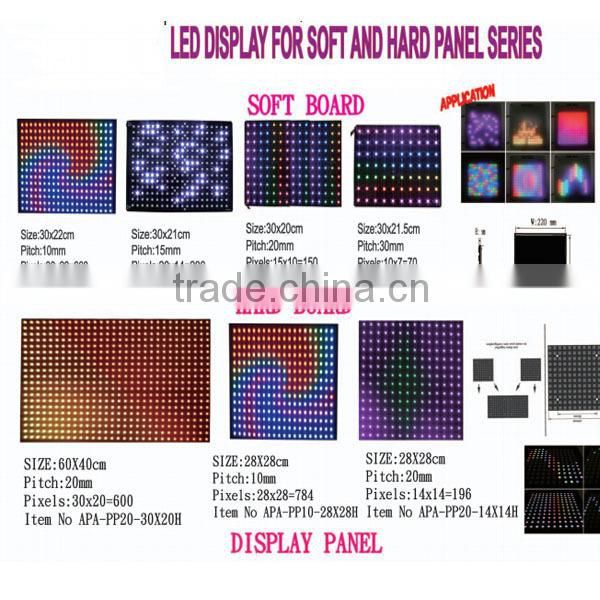 ws2812 apa102 led pixel panel apa102 led pixel display